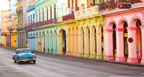 Recorrido privado en auto clásico por La Habana nocturna